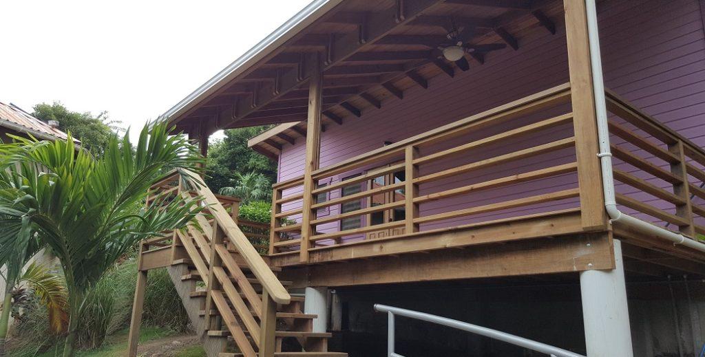 Huge Front deck